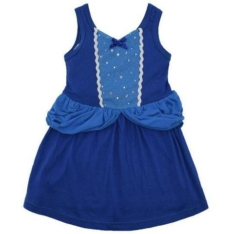 Cinderella Inspired Sleeveless Princess Dress