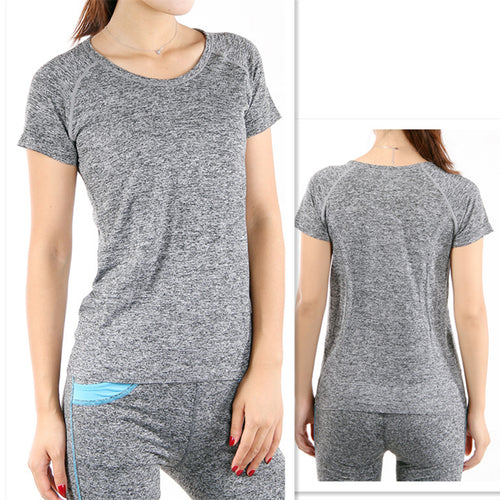 Heather Gray Active T-shirt - RTS