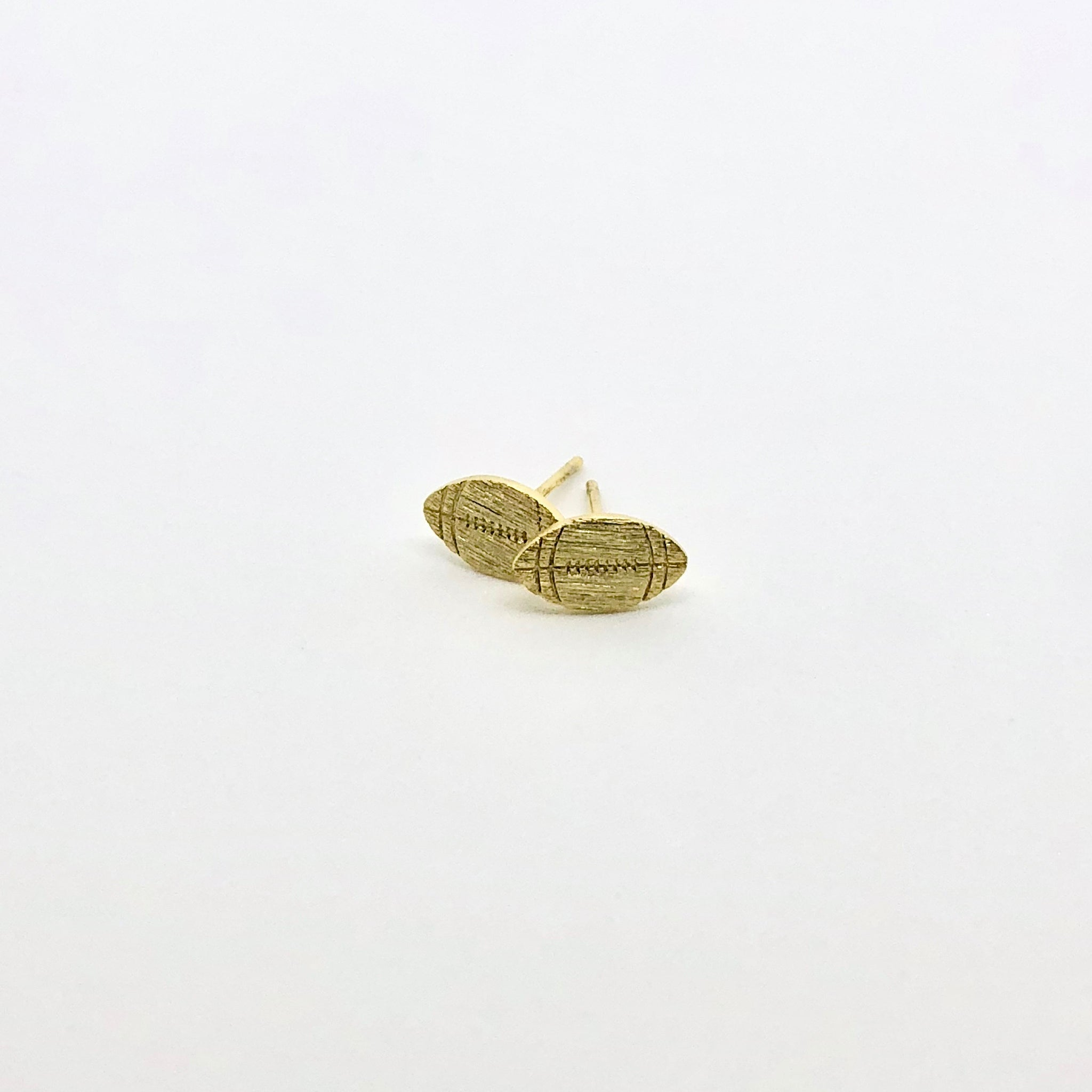 Football Stud Earrings