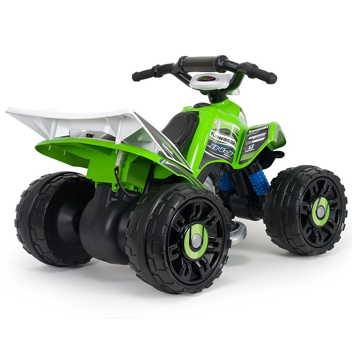 Injusa Electric Ride On Quad Kawasaki ATV 12 Volt – Discount Outlet