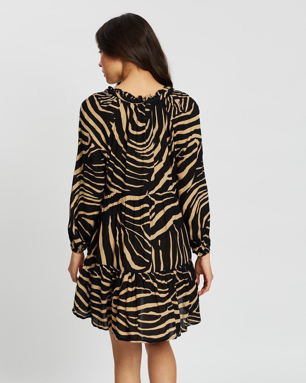 Zebra Cali Shirt Dress