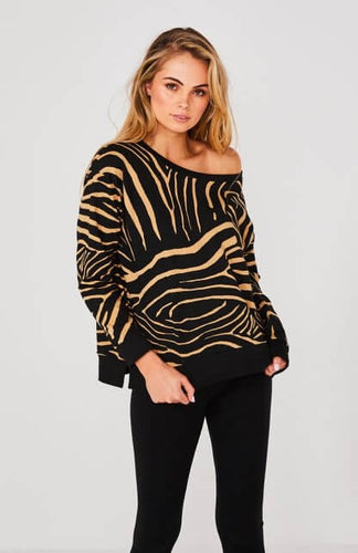 Zebra Kingston Sweater