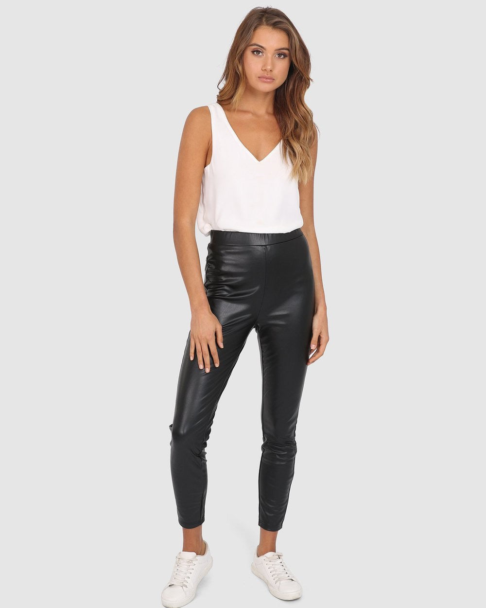 Lex Leatherette Pants