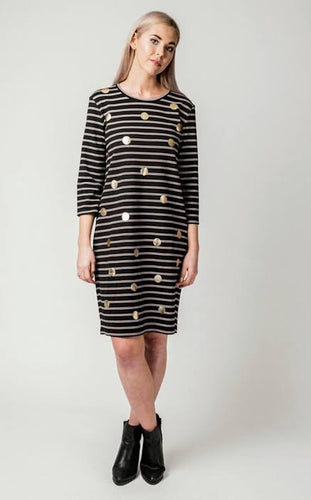 Stripe & Spot Aggie Dress