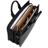 Platinum Special Edition #8203 Triple gusset top zip briefcase