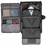 TRAVELPRO CREW™ VERSAPACK™ CARRY-ON ROLLING GARMENT BAG JET BLACK