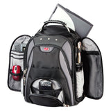 Mancini Backpack for Laptop and Tablet Black