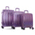 Heys Astro Luggage Spinner 3 Piece Set Purple