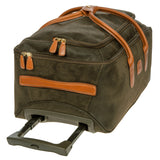 "BRIC'S LIFE 21"" CARRY-ON ROLLING DUFFLE BAG - OLIVE OR BLACK"