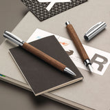 Faber-Castell Ambition Walnut Wood Ballpoint Pen