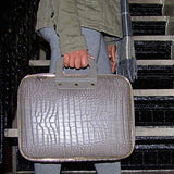 Bombata Bag Gold Cocco Bombata briefcase for 13 inch laptop