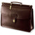 Jack Georges | University Collection #2452 Single gusset flap over w/wood dowel & turnlock