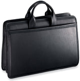 Jack Georges Platinum Special Edition #8203 Triple gusset top zip briefcase