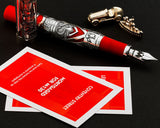 Montegrappa Monopoly Limited Edition Tycoon Style Fountain Pen Red
