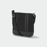Zero Halliburton Journal Collection Nylon Crossbody Black