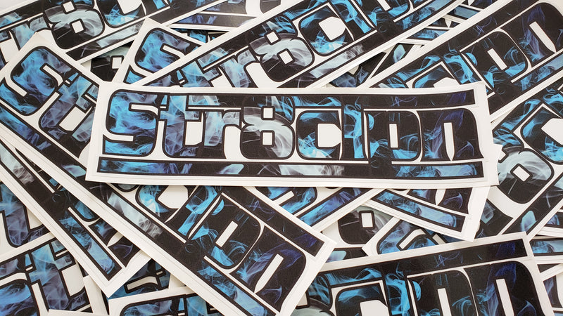 STR8CLPN Decals 10""
