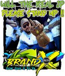 BRAND X / REAL JP PLEASE STAND UP