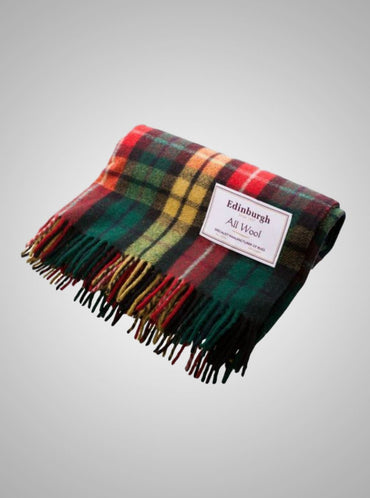 Pattern Edinburgh Wool Throw