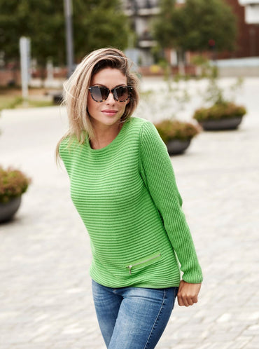 Skovhuus Strik Ladies Long Sleeve Cotton Pull Over