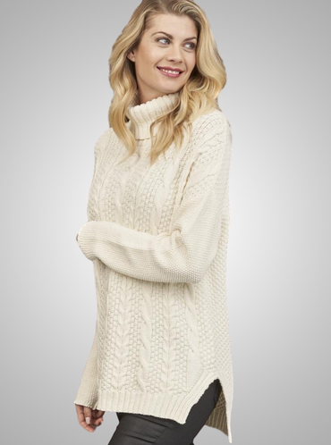 Emily Comfy Turtle Neck Sweater