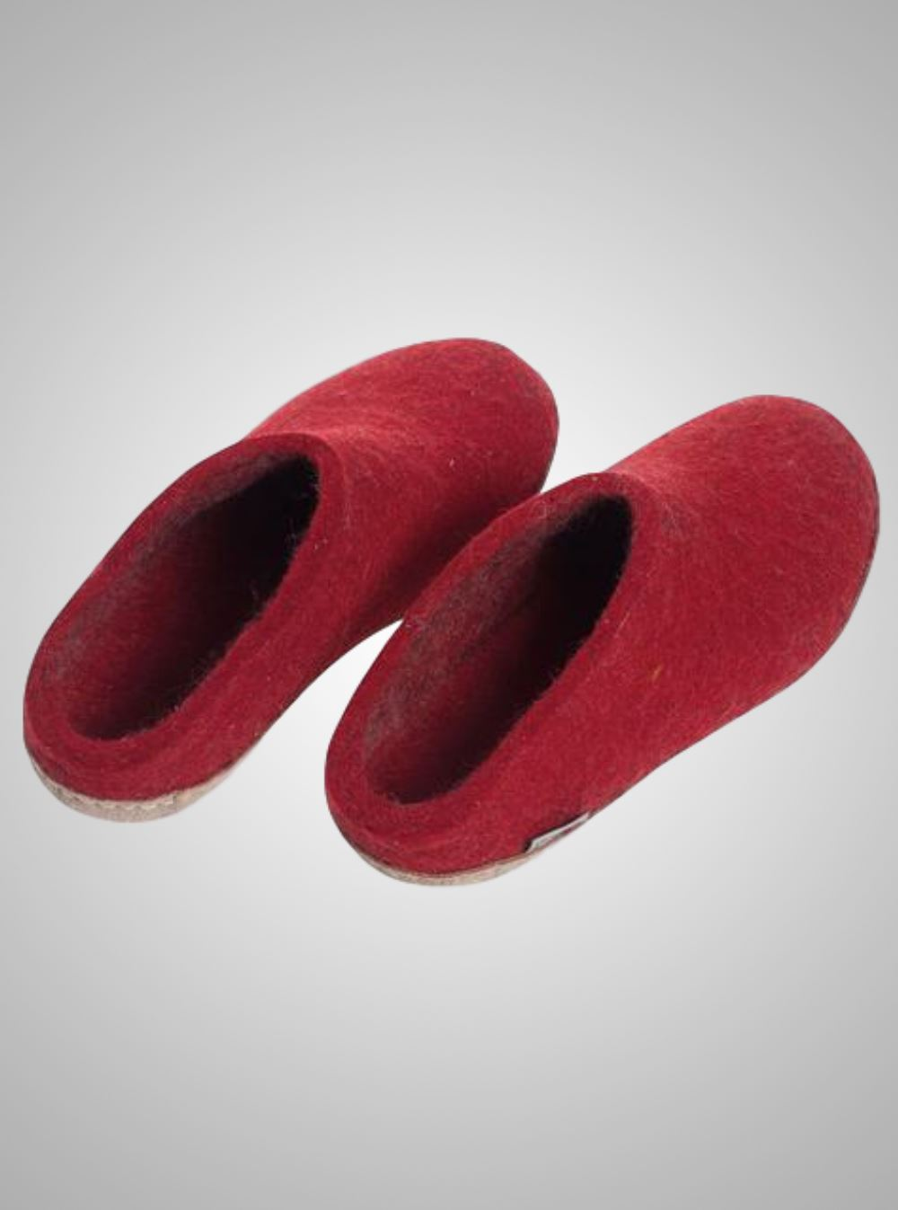 Glerups Slippers with Leather Sole