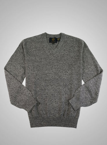 Viyella V Neck Marino Wool Sweater