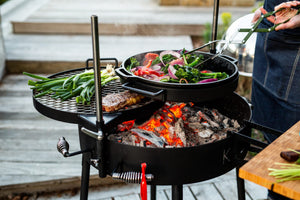 The Kudu Open Fire Grill