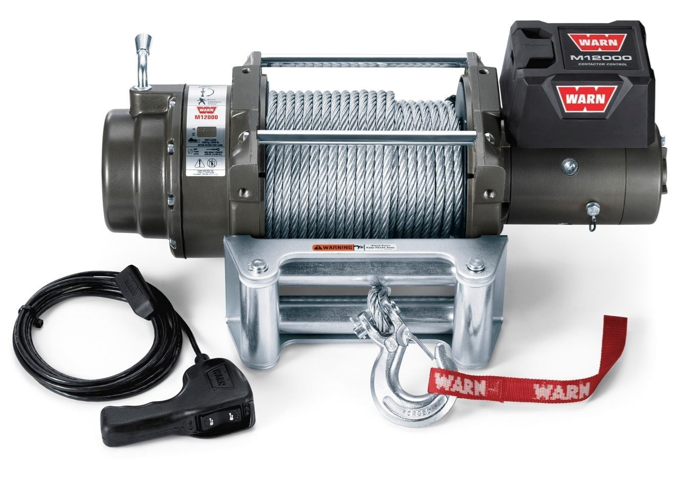Warn Industries M12000 12,000lb Self-Recovery Winch - 17801