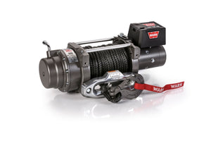 Warn Industries M12-S 12,000lb Recovery Winch, Synthetic Rope - 97720