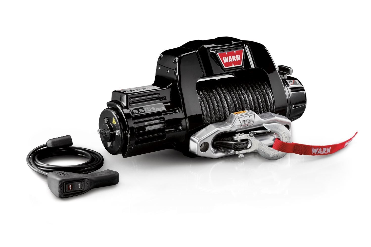 Warn Industries 9.5cti-s 9,500lb Self-Recovery Winch - 97600