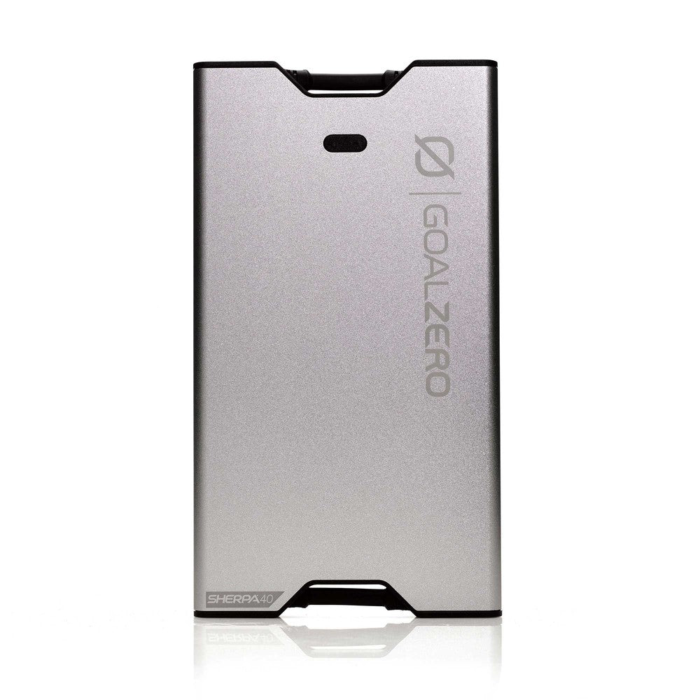 GOAL ZERO SHERPA 40 POWER BANK SILVER