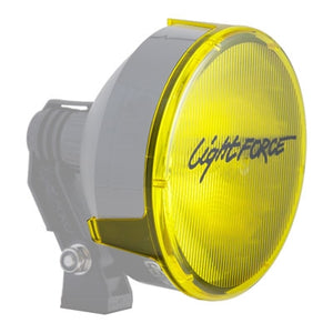 "Striker 7"" Filters/Covers With Lightforce Logo - Yellow Spot"