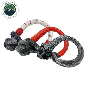"Overland Vehicle Systems 23"" 5/8"" Soft Recovery Shackle With A Breaking Strength of 44,000 lbs."