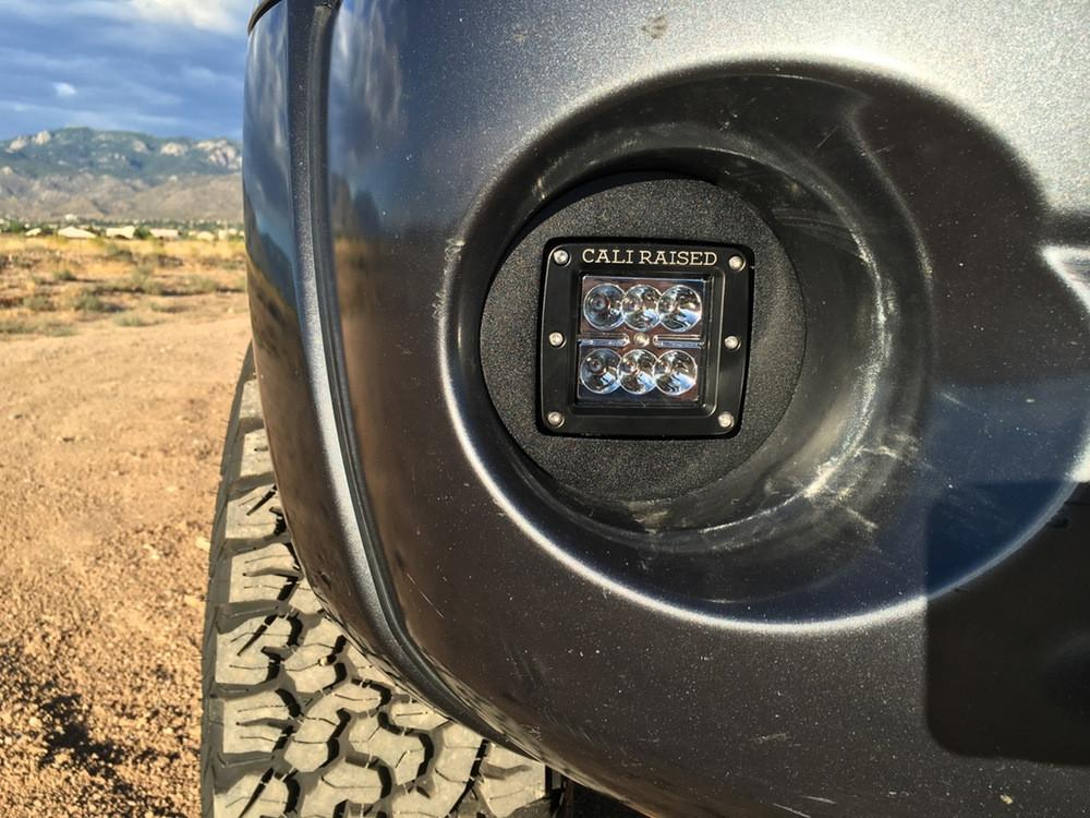2005-2011 Toyota Tacoma LED Fog Light Mount - Cali Raised LED