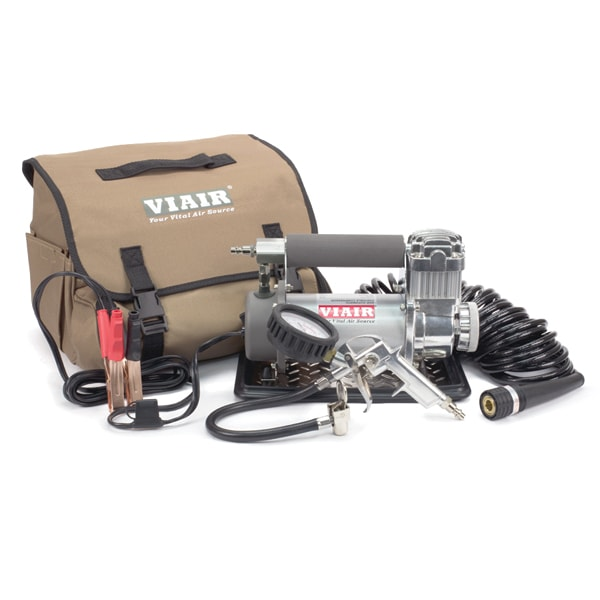 VIAIR 400P-Automatic Portable Compressor Kit (12V, 33% Duty)