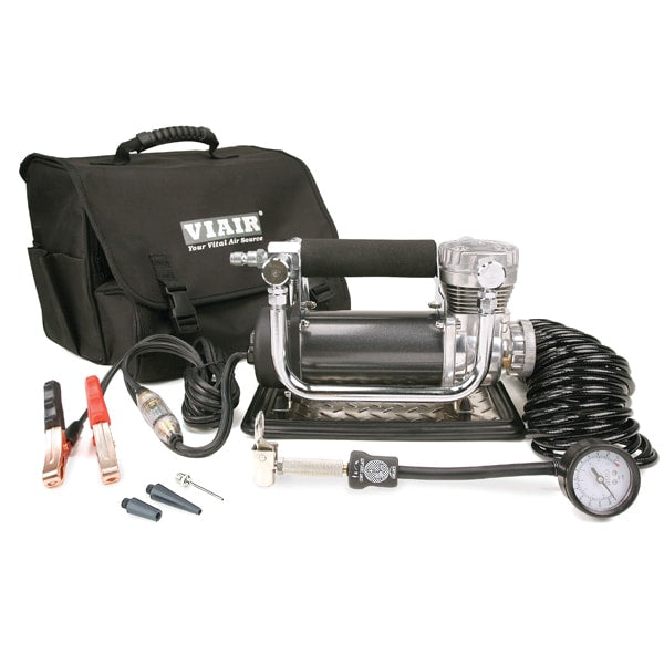 VIAIR 440P Portable Compressor Kit (12V, CE, 33% Duty, 150 PSI)