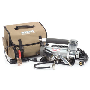 VIAIR 450P-Automatic Portable Compressor Kit (12V, 100% Duty, 150 PSI)
