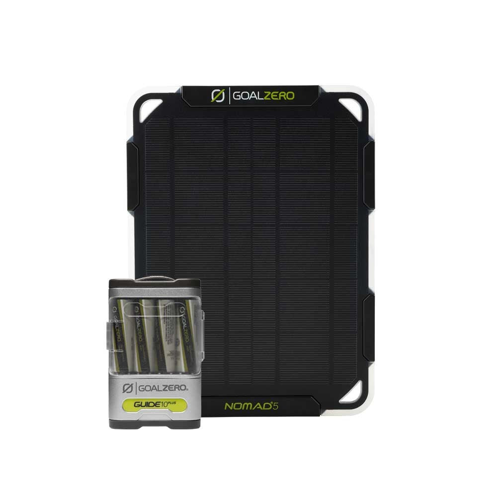 GOAL ZERO NOMAD 5 + GUIDE 10 PLUS SOLAR KIT