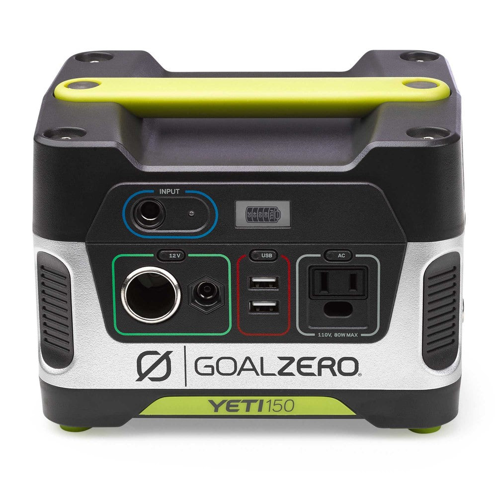 GOAL ZERO YETI 150 POWER STATION + BOULDER 50 SOLAR PANEL KIT