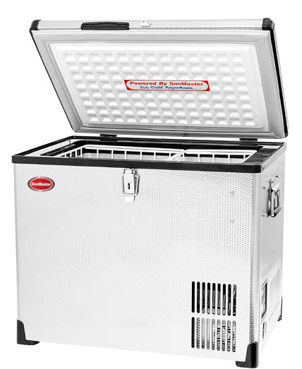 SnoMaster Classic Series (CL40) Stainless Steel  AC/DC Fridge or Freezer