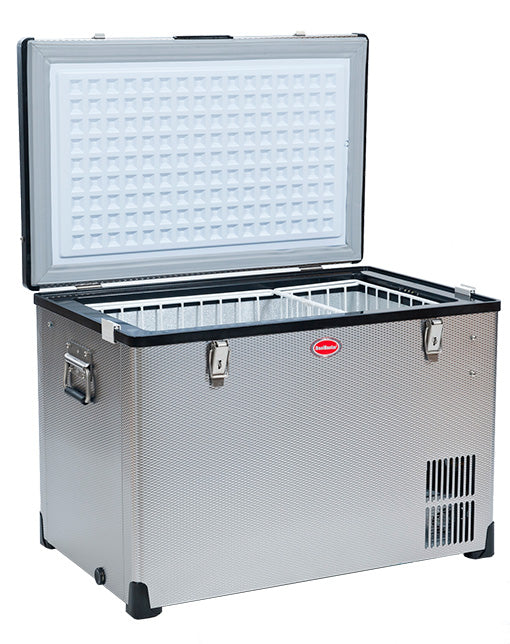 SnoMaster Expedition Series (EX75) Stainless Steel  AC/DC Fridge or Freezer
