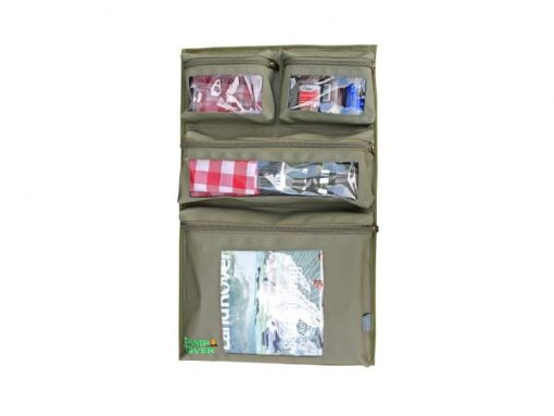 Camp Cover Door Storage System