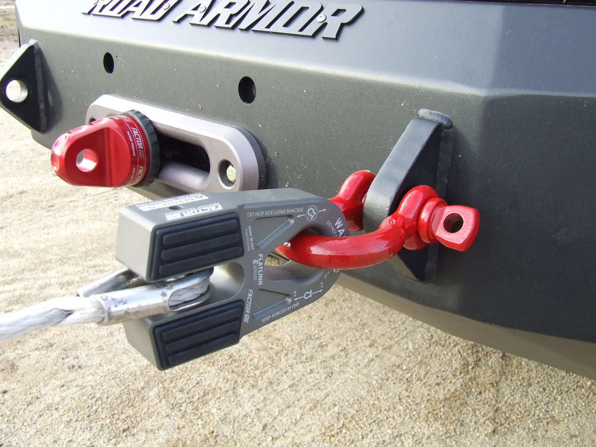 Factor 55 Flatlink E (Expert) Winch Shackle Mount