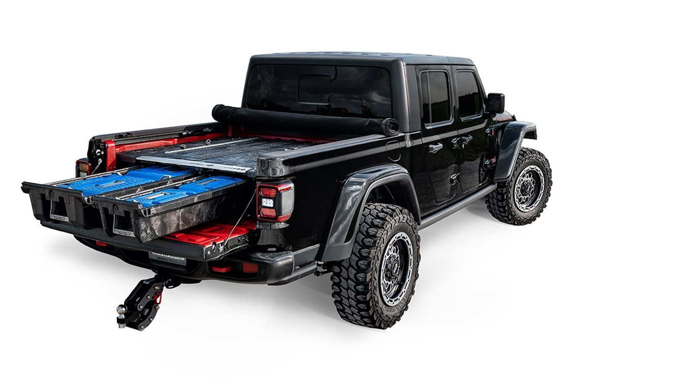 DECKED Jeep Gladiator Truck Bed Storage System and Organizer