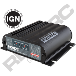 REDARC 20A In-Vehicle DC Battery Charger (Ignition Control)