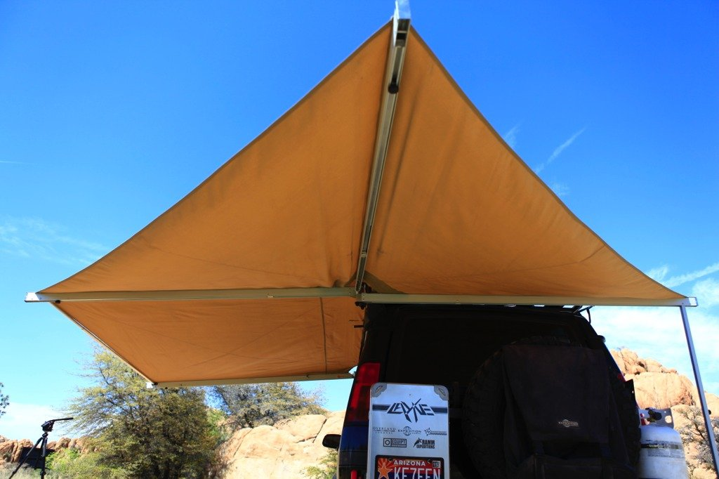 Eezi-Awn Trailer Tent Cover