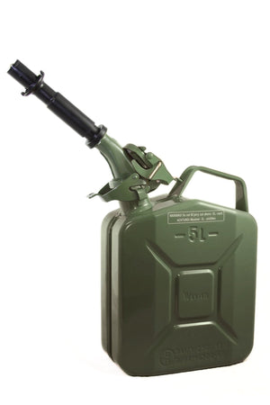 Wavian Fuel Can — the original NATO Steel Jerry Can (5L 1.3 Gal)