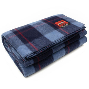 Classic Wool Plaid Blanket