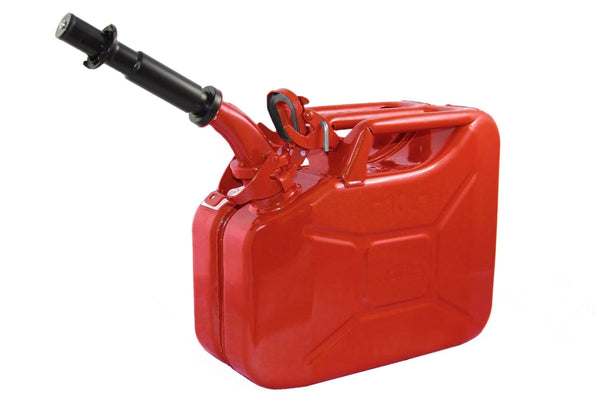Wavian Fuel Can — the original NATO Steel Jerry Can (10L 2.6 Gal)