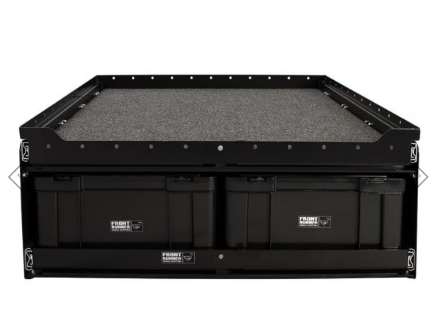 6 Cub Box Drawer w/ Cargo Sliding Top - by Front Runner